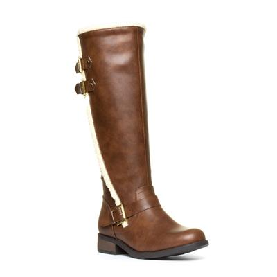 Womens Tan Riding Boots