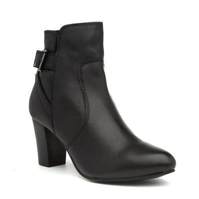 Lydia Womens Wide Fit Leather Boot