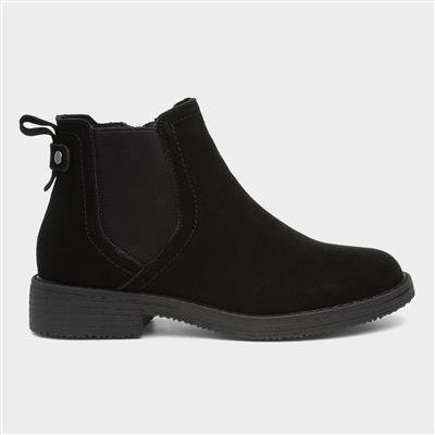 Maddy Womens Black Leather Boot