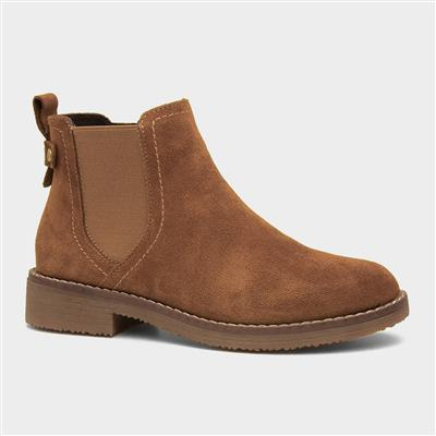 Maddy Womens Tan Leather Boot