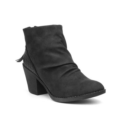 Sadya Womens Black Ankle Boot