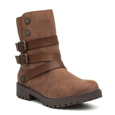 Radiki Womens Brown Ankle Boot