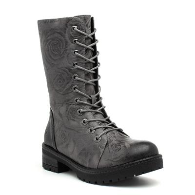 Arabella Womens Grey Calf Boot