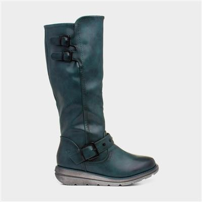 Erica Womens Ocean Calf Boot