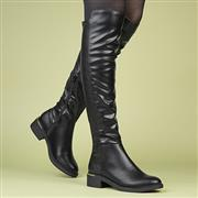 Truffle Adrea10 Womens Black Over the Knee Boot (Click For Details)