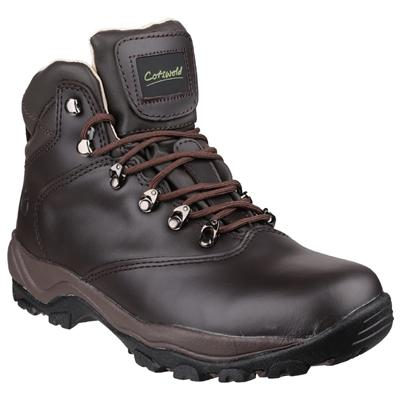 Winstone Women's Brown Leather Hiking Boo