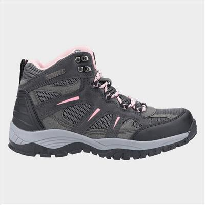 Womens Stowell Hiking Boot in Grey
