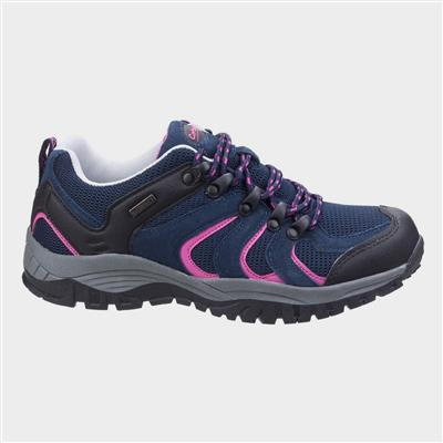 Womens Stowell Low Hiking Shoe in Blue