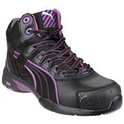 Puma Safety Womens Stepper Mid in Black (Click For Details)