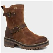 Rieker Cognac Womens Brown Boot 96274-24 (Click For Details)