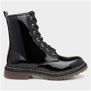 Truffle Buk2 Womens Black Patent Ankle Boot (Click For Details)
