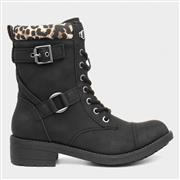 Rocket Dog Thunder Womens Black Lace Up Boot (Click For Details)