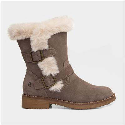 Macie Womens Grey Suede Boot