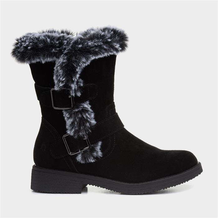 Vintage Winter Retro Boots – Snow, Rain, Cold Hush Puppies Macie Womens Black Calf Boot £69.99 AT vintagedancer.com