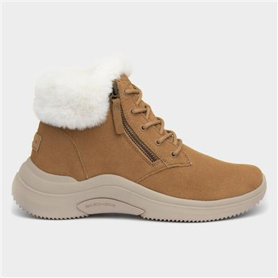 On The Go Midtown Womens Tan Boot