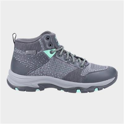 Trego Womens Hiking Boots in Grey