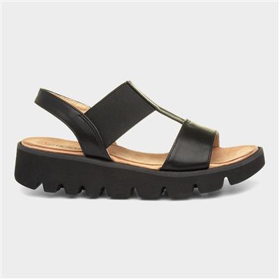 Ritz Womens Sandal in Black