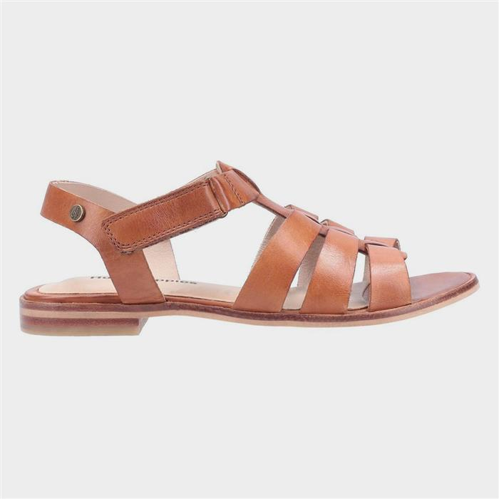 1950s Style Shoes | Heels, Flats, Boots Hush Puppies Laila Gladiator Sandal in Tan £34.99 AT vintagedancer.com