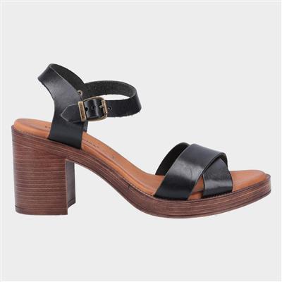 Womens Georgia Sandal in Black