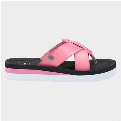 Wilmer Burn Womens Sandal in Pink