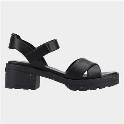 Luca Womens Sandal in Black
