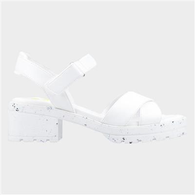 Luca Womens Sandal in White