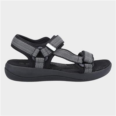 Sara Womens Sandal in Black