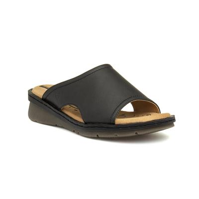 Ginger Womens Black Mule Sandal
