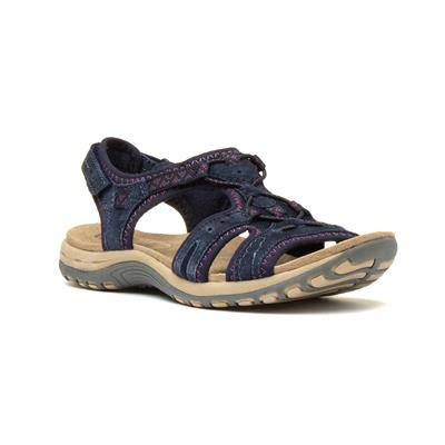 Fairmont Womens Navy Blue Sandal