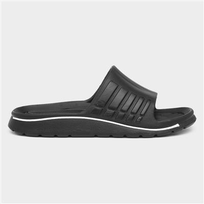 Black Sporty Slider