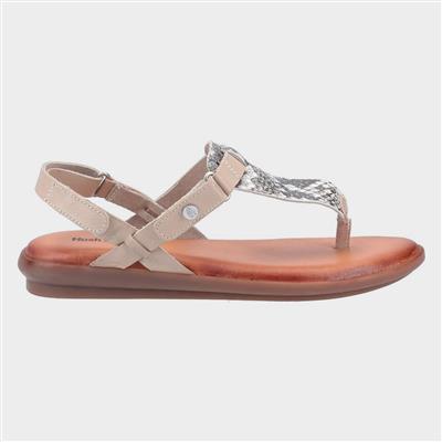Norah Womens Sandals in Snake Print
