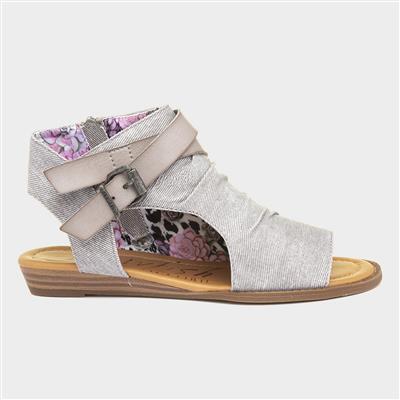 Balla Hipster Womens Grey Sandals