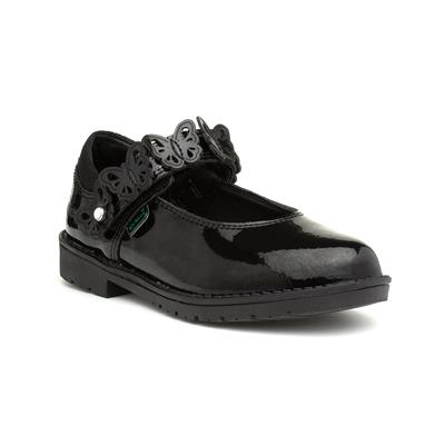 Lachly Girls Leather Butterfly Shoe