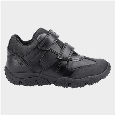 J Baltic ABX Boys Shoe in Black Sizes 26-31