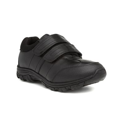 Melk Boys Leather Easy Fasten Shoe