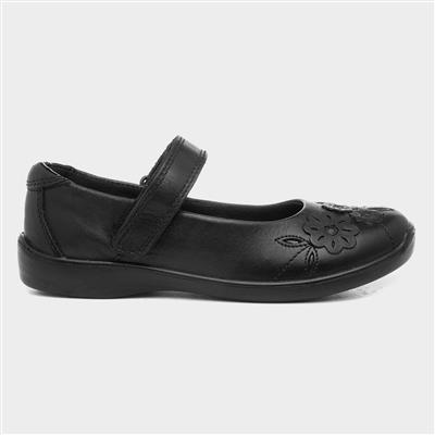 Greta Black Girls Shoe