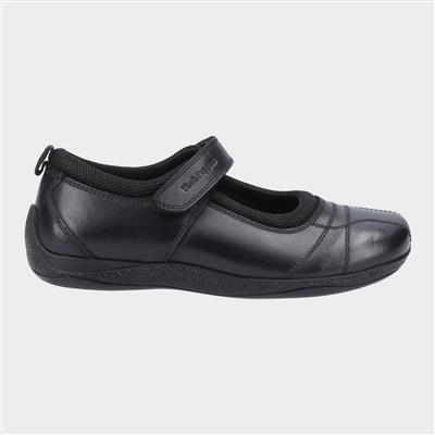 Clara Girls Black Shoe Sizes 3-7