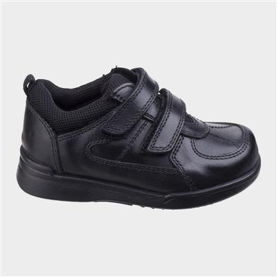 Liam School Shoe in Black
