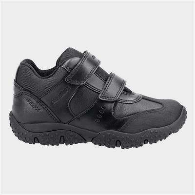 J Baltic ABX Boys Shoe in Black Sizes 32-38