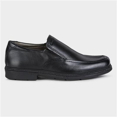 Federico Boys Slip On Shoe Black Sizes 31-34