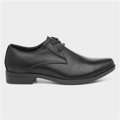 Boys Formal Lace Up Shoe in Black