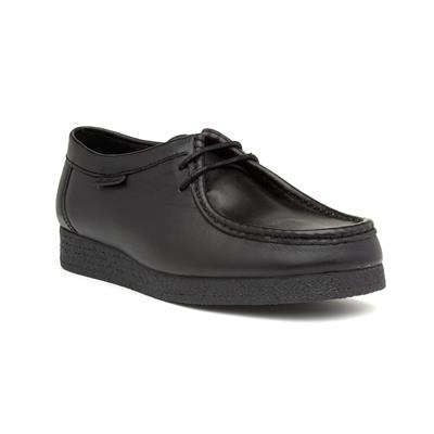 Quad Kids Leather Wallabee Shoes