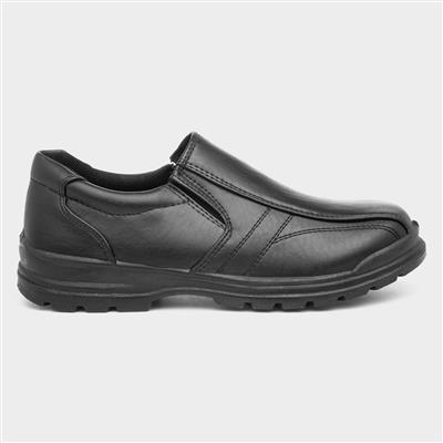 Boys Slip On Shoe in Black