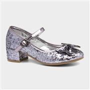 Lilley Sparkle Girls Metallic Heeled Party Shoe (Click For Details)