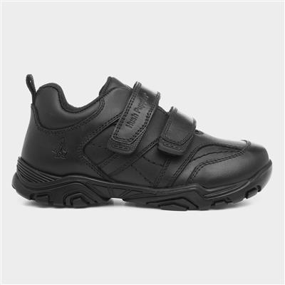 Levi Boys Leather Easy Fasten Shoe