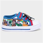 Toy Story Kids Easy Fasten Canvas Shoes (Click For Details)