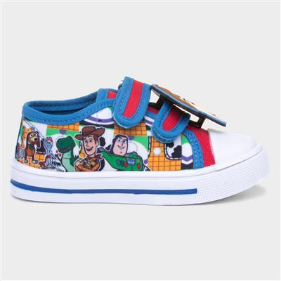 Kids Easy Fasten Canvas Shoes