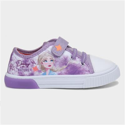Kids Light Up Canvas in Lilac