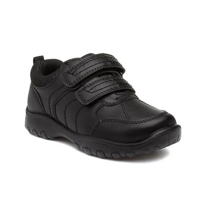 Sherbourne Boys Black School Shoe