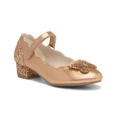 Veronica Girls Gold Party Shoe